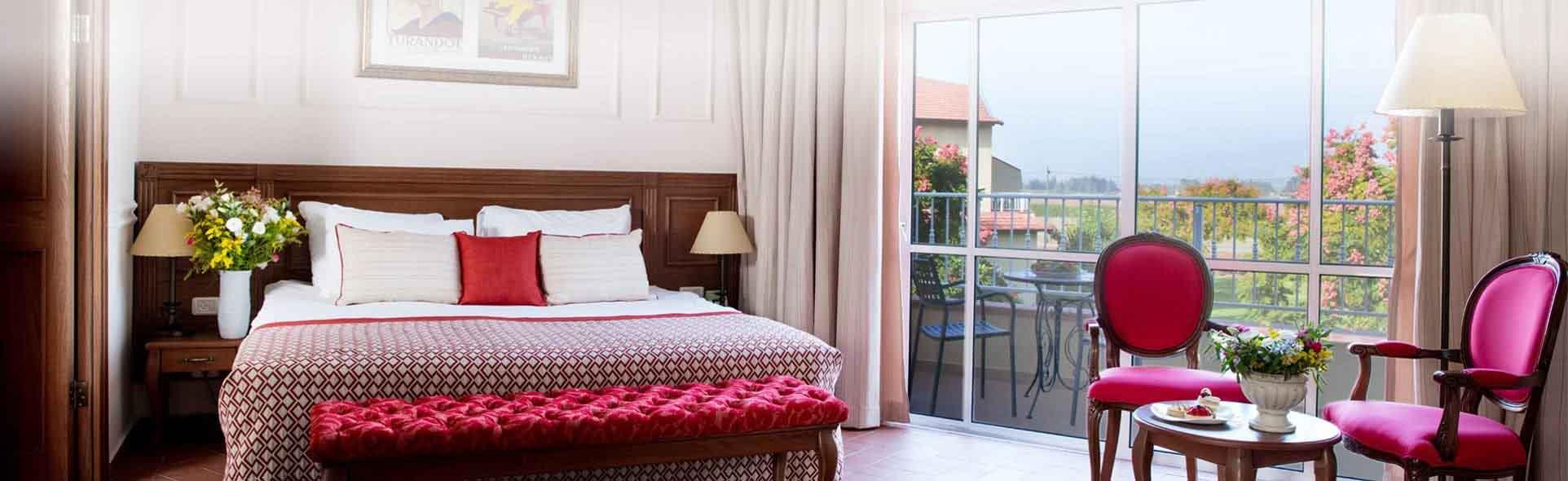 מלון פסטורל כפר בלום - חדר עם נוף לגליל