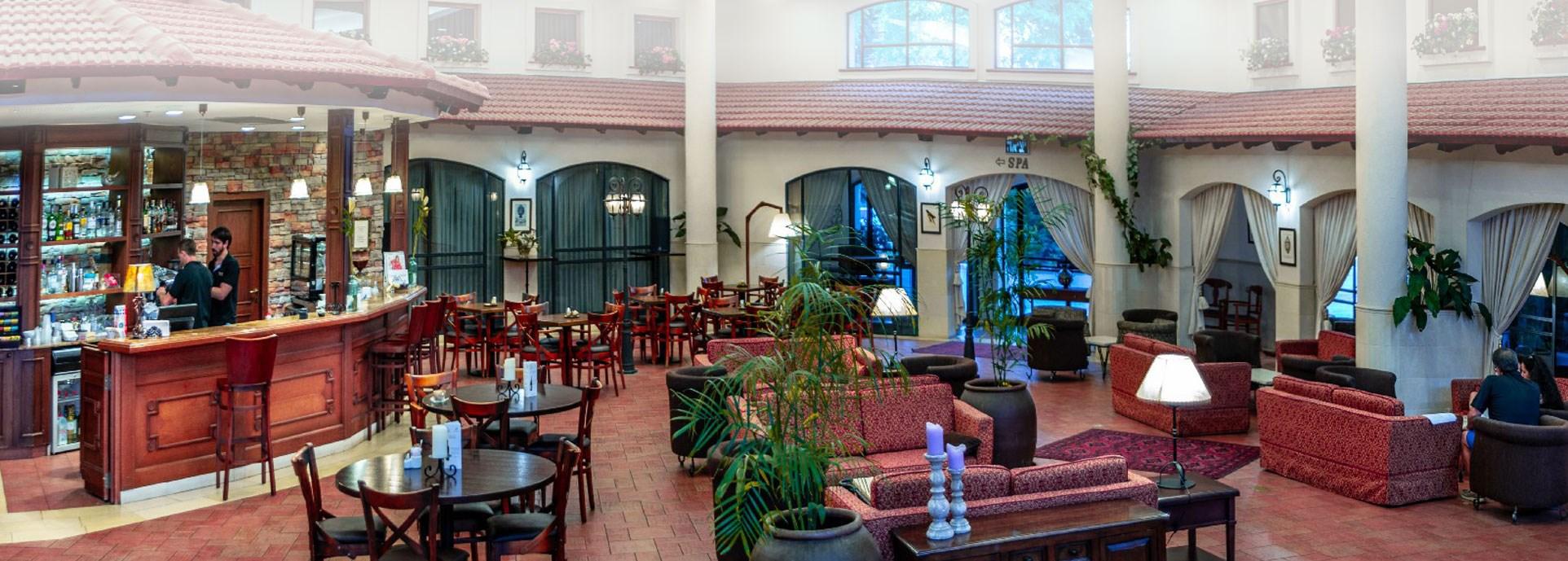 מלון פסטורל כפר בלום - לובי המלון