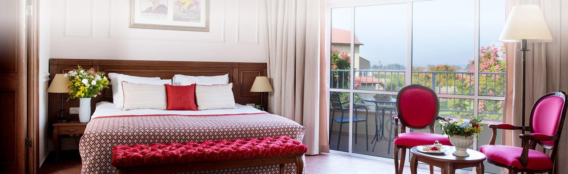 מלון פסטורל כפר בלום - חדר הבוטיק