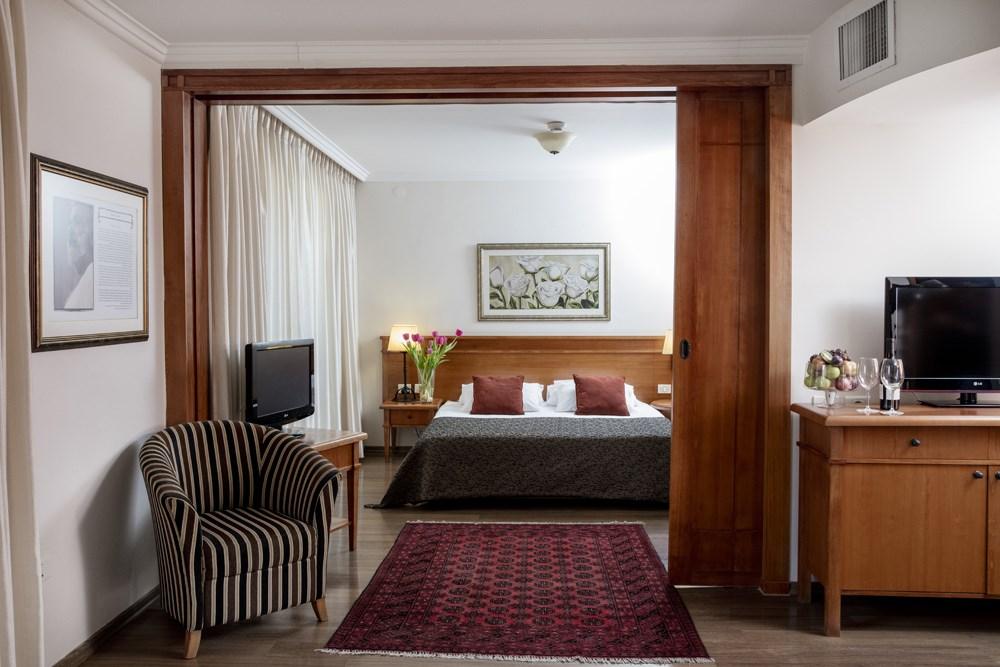 מלון פסטורל כפר בלום - הסוויטות חדר שינה